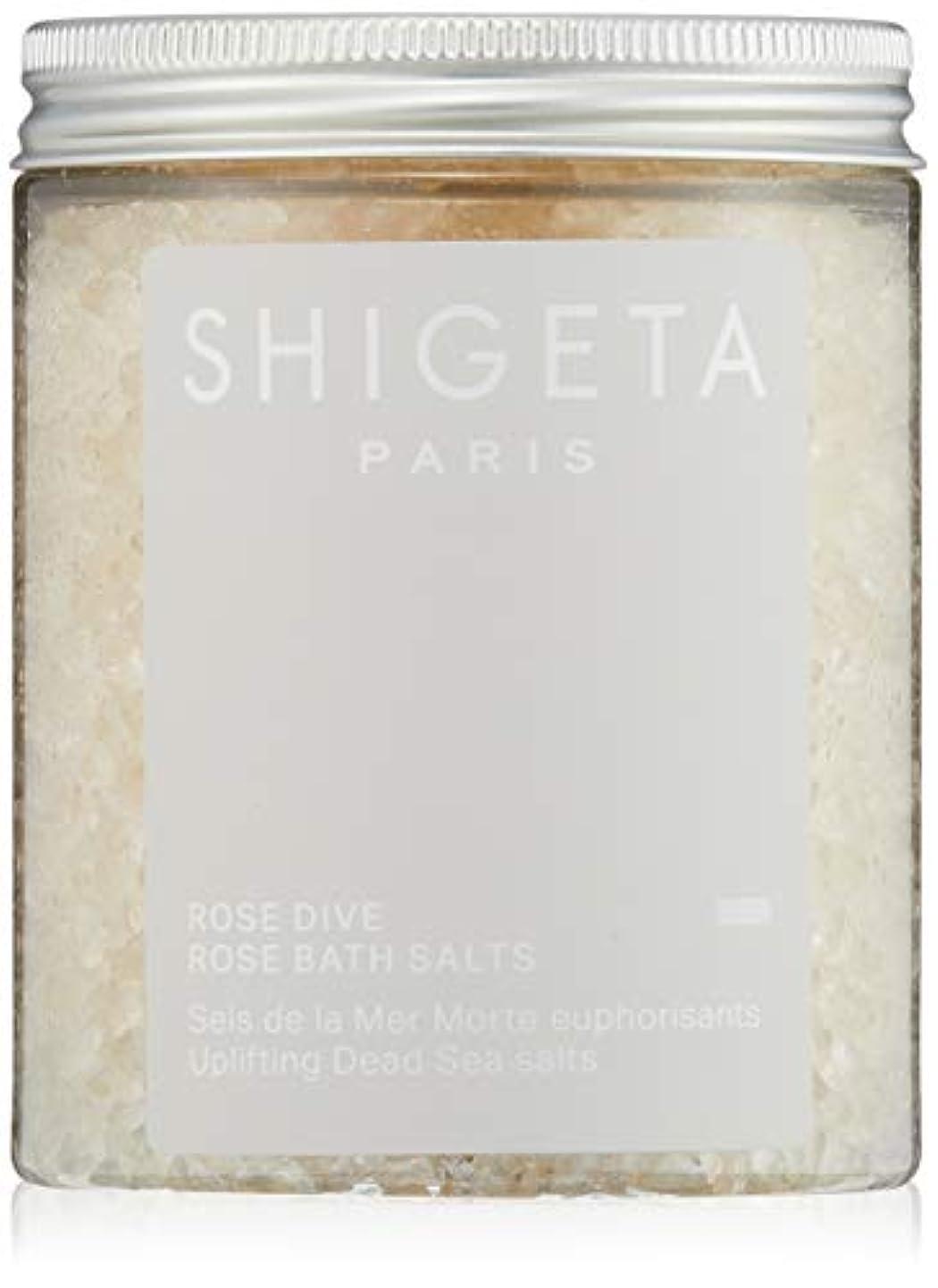 彼の怒る商標SHIGETA(シゲタ) ローズダイブ バスソルト 285g