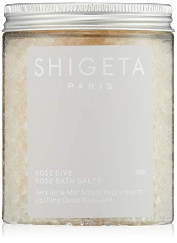 適用済み自動的に韻SHIGETA(シゲタ) ローズダイブ バスソルト 285g