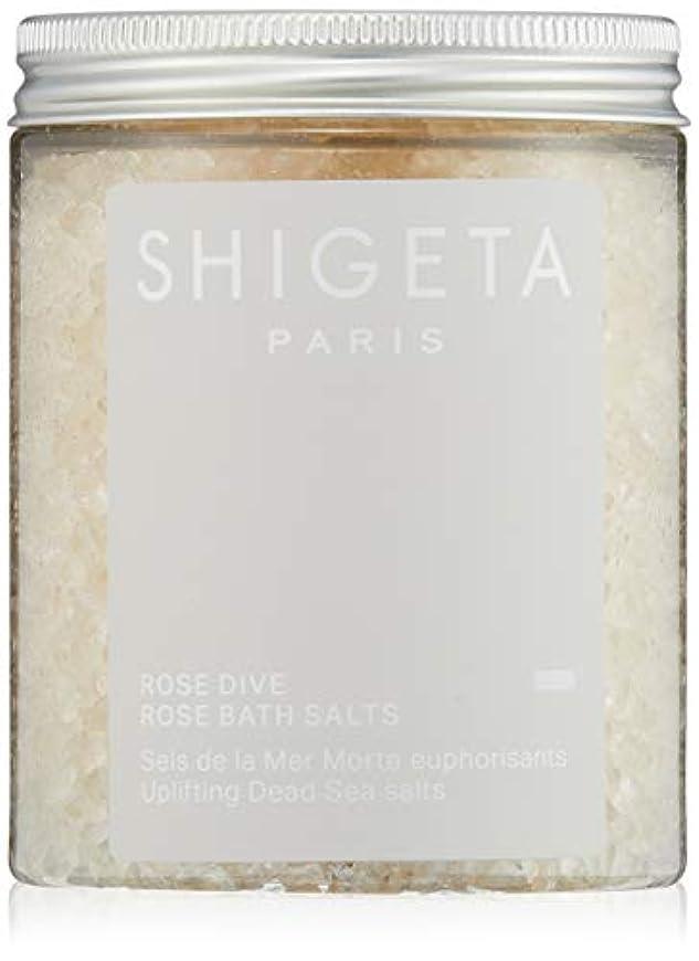 急性主張可塑性SHIGETA(シゲタ) ローズダイブ バスソルト 285g