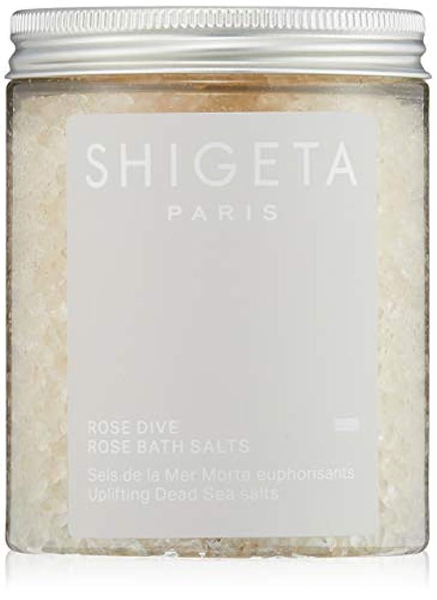 十年冷凍庫値するSHIGETA(シゲタ) ローズダイブ バスソルト 285g