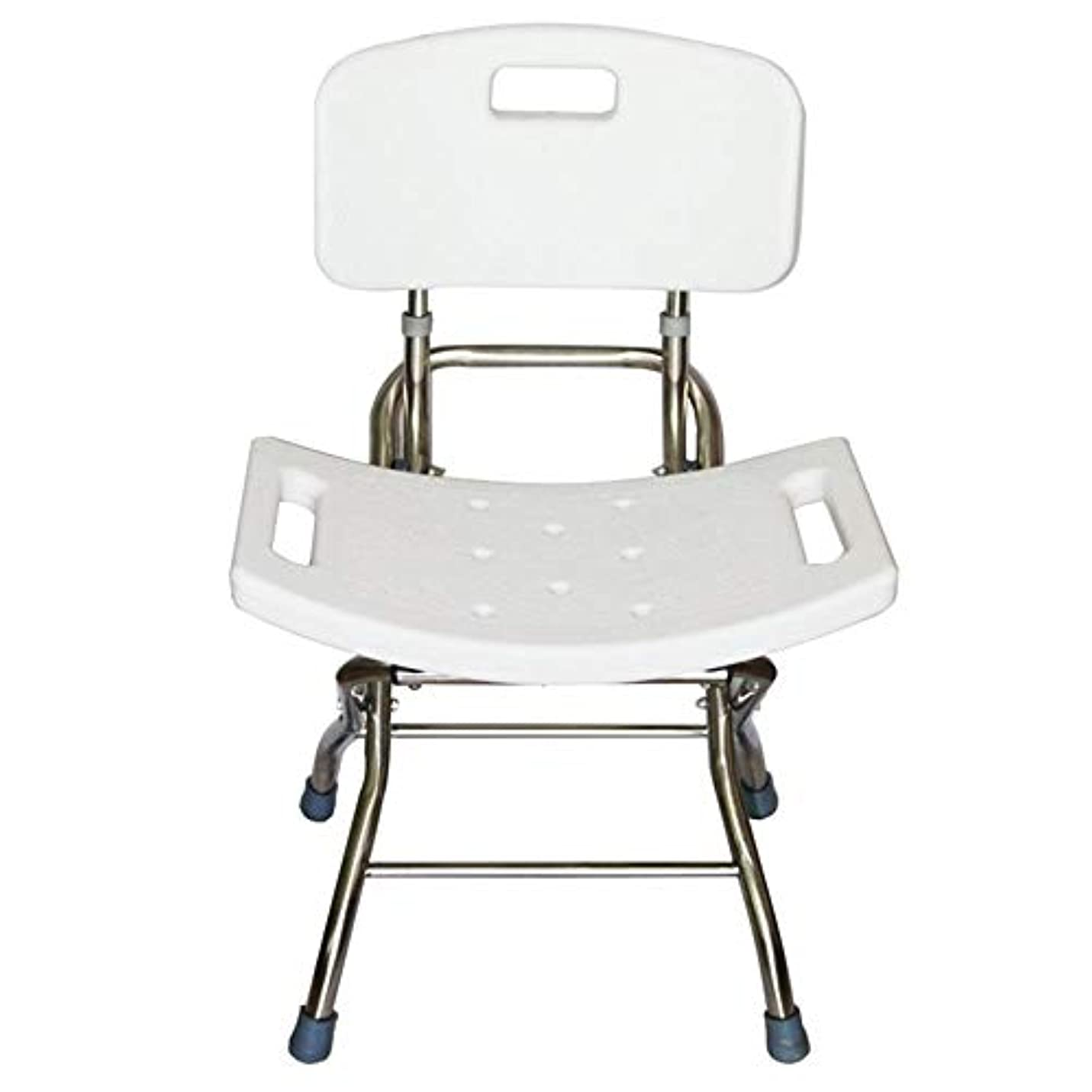 再撮り寺院これら背部およびシャワー?ヘッドのホールダーが付いているデラックスな高さの調節可能なアルミニウムBath/シャワーの椅子