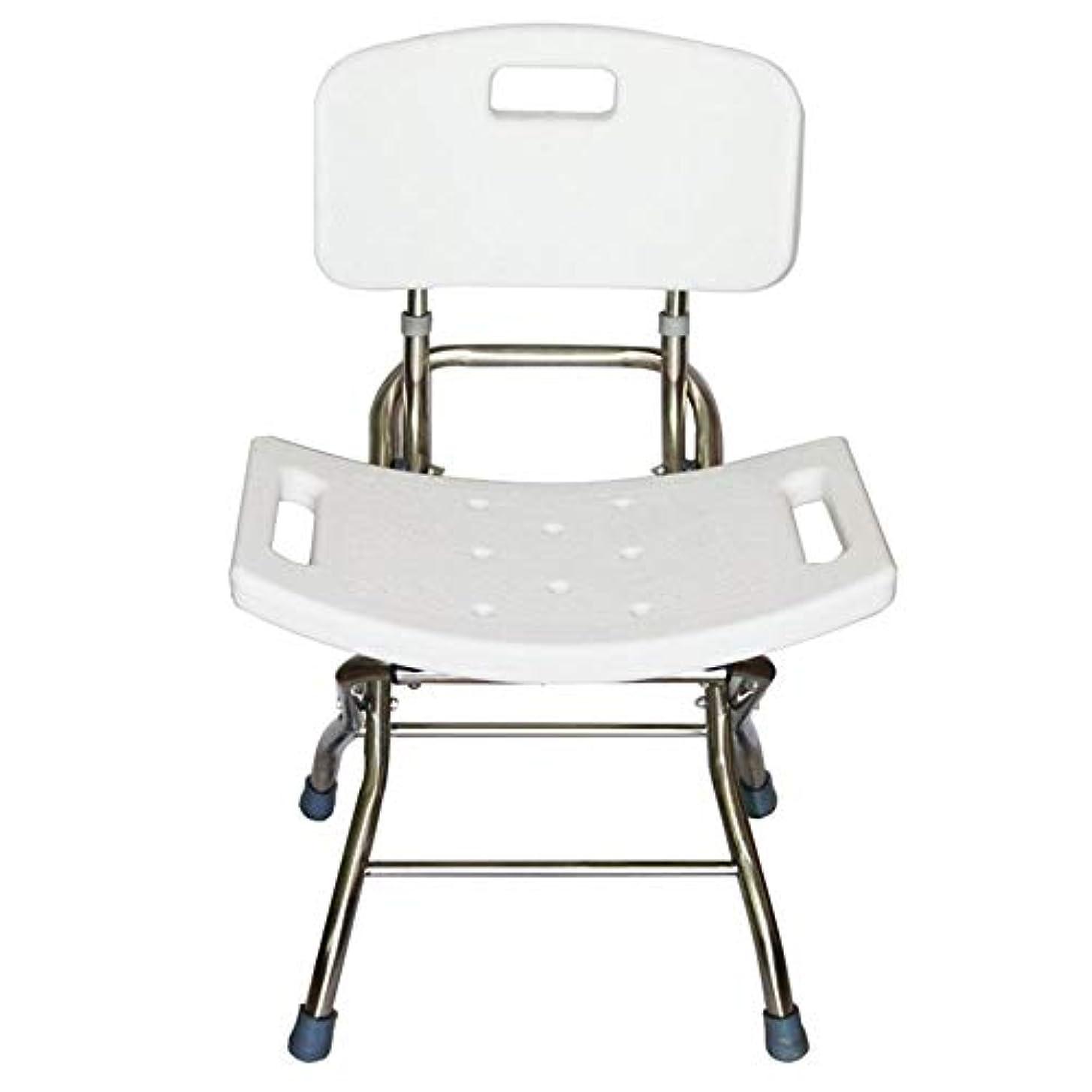 小説ボード無傷背部およびシャワー?ヘッドのホールダーが付いているデラックスな高さの調節可能なアルミニウムBath/シャワーの椅子