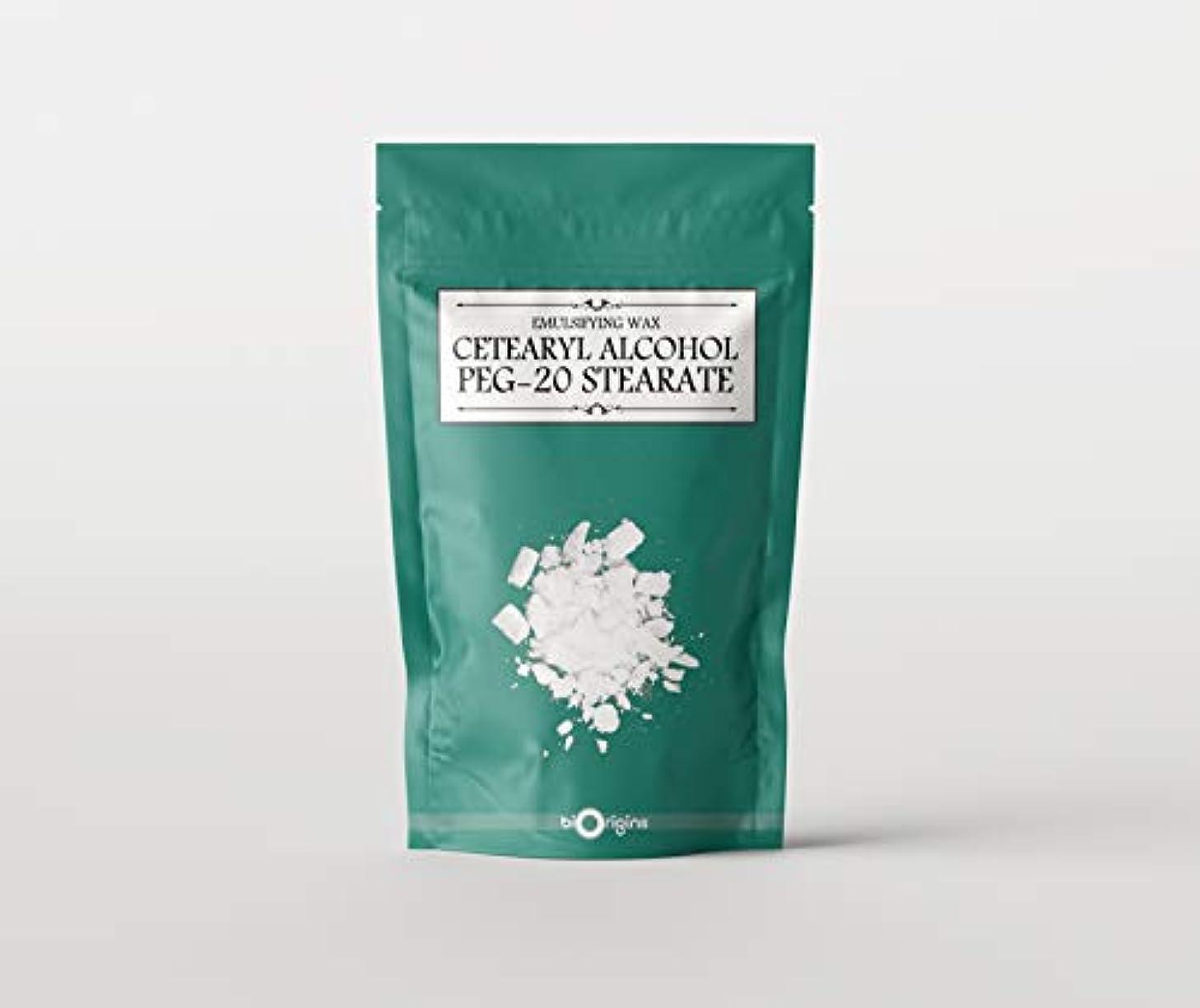 若い区協力Emulsifying Wax (Cetearyl Alcohol/PEG-20 Stearate) 500g