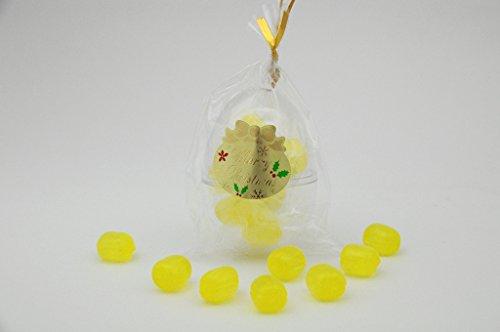 クリスマス オーナメント たまご型 レモン飴 60個入り 業務用 ツリーオーナメント