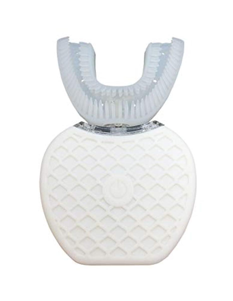 入手します彼らシーフードBroadwatch 電動歯ブラシ U型 360° 全方位 360度 4段調節 IPX7レベル防水 自動 歯ブラシ ホワイトニング