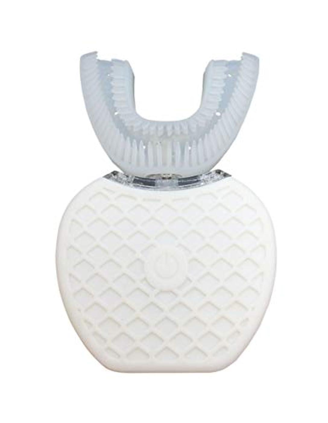 コカイン大邸宅感度Broadwatch 電動歯ブラシ U型 360° 全方位 360度 4段調節 IPX7レベル防水 自動 歯ブラシ ホワイトニング
