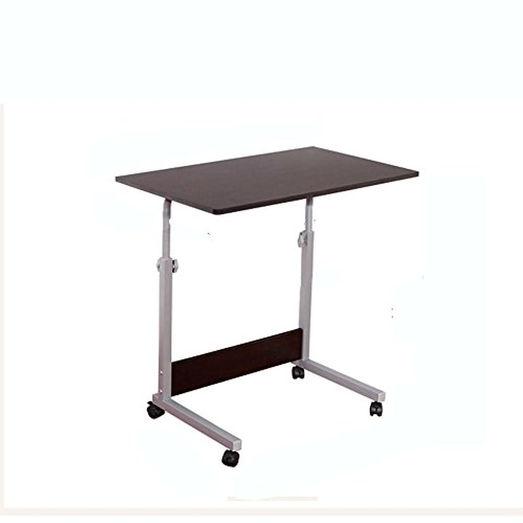少年カップ日LJHA zhuozi シンプルラップトップデスクベッドデスクデスクトップ小型テーブル学生用机(黒)(80×50cm)