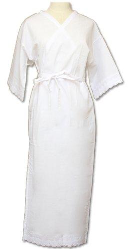 Lサイズ 【着物】きもの用スリップ スリップスタイルに仕上げた肌襦袢&裾除け 吸湿性に富んだ爽やかな着心地です。