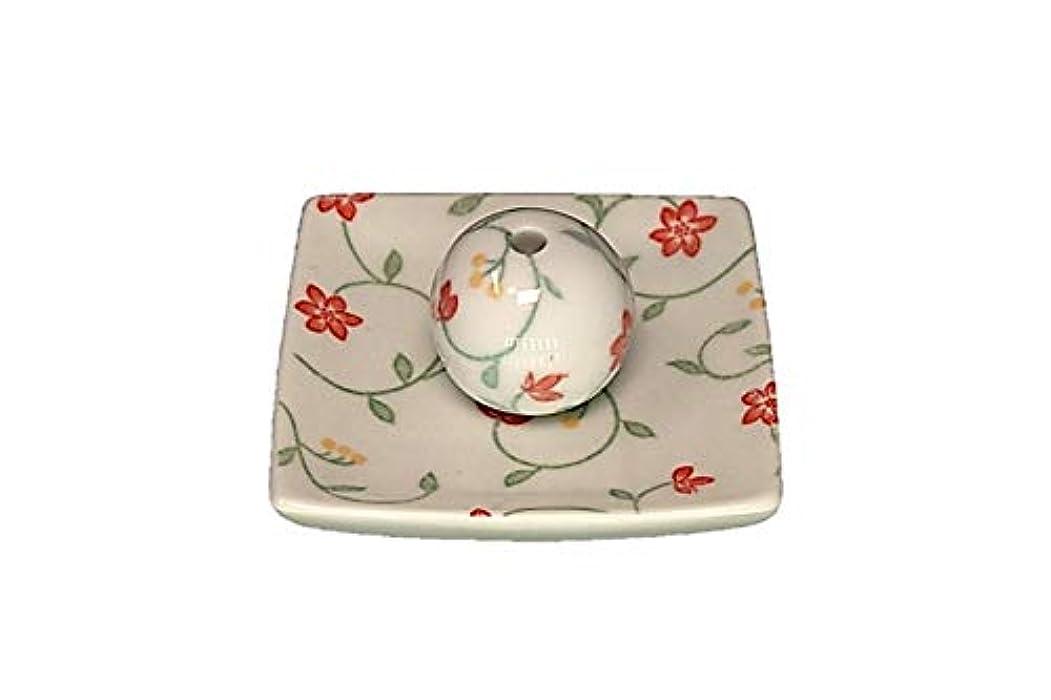 子羊印をつけるモンキー玉手箱 小角皿 お香立て 陶器 ACSWEBSHOPオリジナル