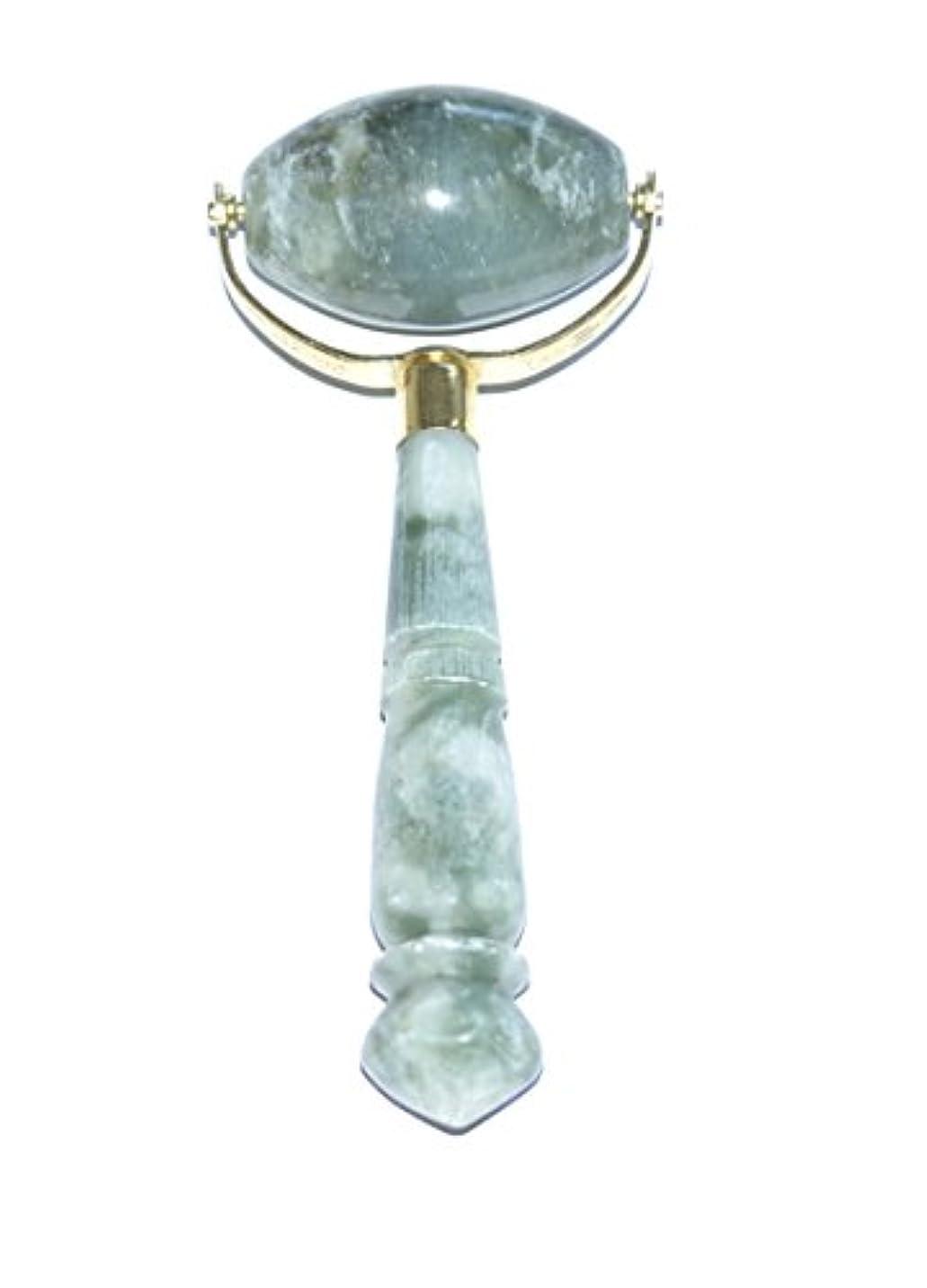 ハント修士号道に迷いましたEcho & Kern 翡翠フェイスローラー Durable Jade Stone Derma Roller