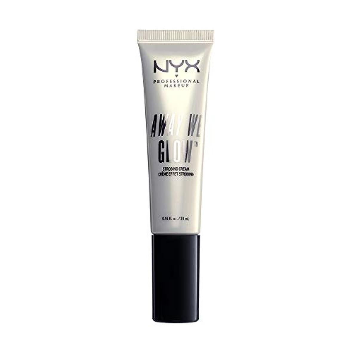 音声回転させる画面NYX(ニックス) アウェイ ウィー グロー ストロビングクリーム 01 カラー ブライト スター