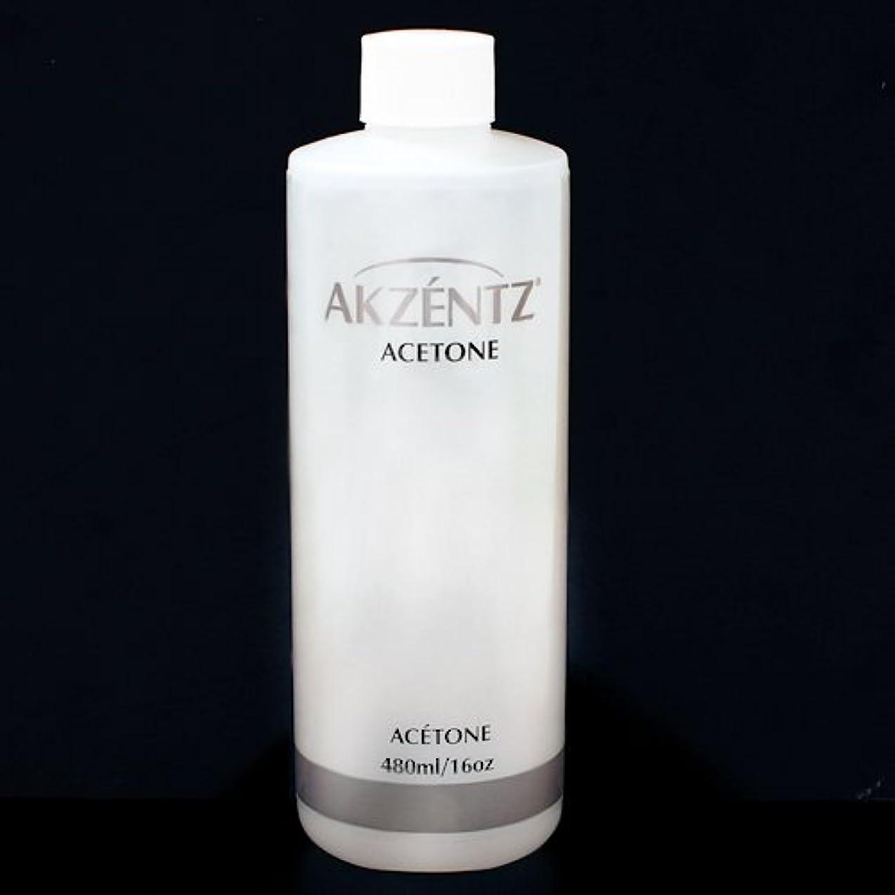 肥沃な言及する作り上げるアクセンツ(AKZENTZ) ネイルリムーバー (アセトン) 480ml