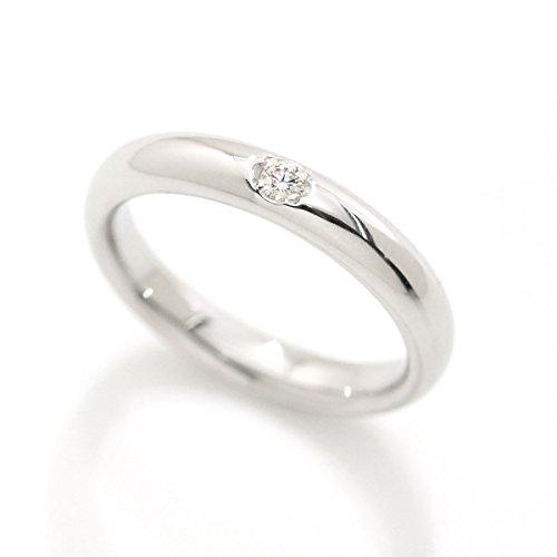 ミキモト MIKIMOTO ダイヤ 0.03ct リング 7号 Pt950 プラチナ ダイア 指輪 【中古】 90050588