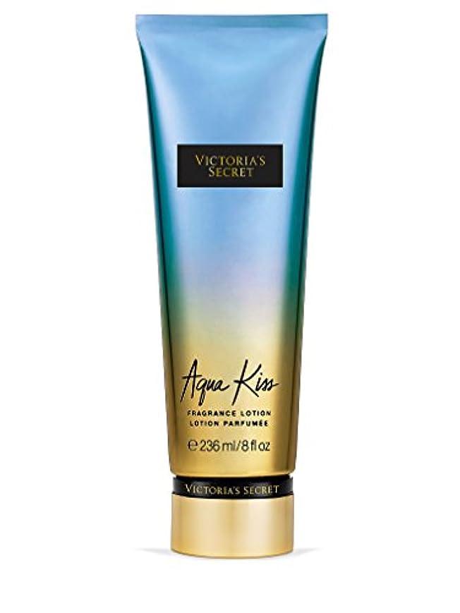 艦隊ハック分解するVictoria's Secret ヴィクトリアシークレット Aqua Kiss Fragrance Lotion フレグランス ボディーローション アクアキス 236ml [並行輸入品]