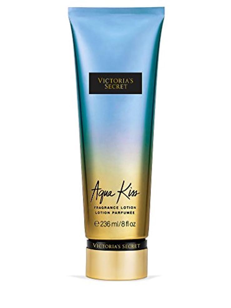 型ミュウミュウ不信Victoria's Secret ヴィクトリアシークレット Aqua Kiss Fragrance Lotion フレグランス ボディーローション アクアキス 236ml [並行輸入品]