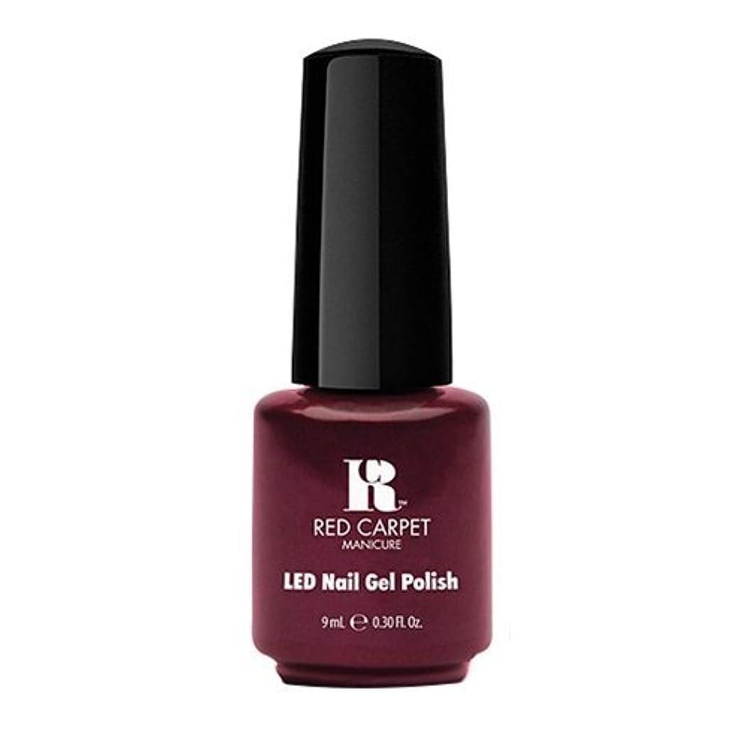 ぎこちない吹雪バンクRed Carpet Manicure - LED Nail Gel Polish - Glamspiration - 0.3oz / 9ml