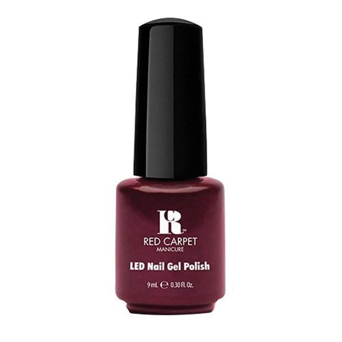 嫌悪有効化バルセロナRed Carpet Manicure - LED Nail Gel Polish - Glamspiration - 0.3oz / 9ml