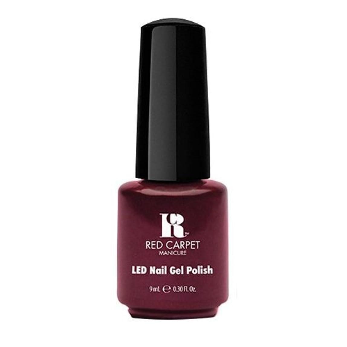 夜明けにカール刈るRed Carpet Manicure - LED Nail Gel Polish - Glamspiration - 0.3oz / 9ml