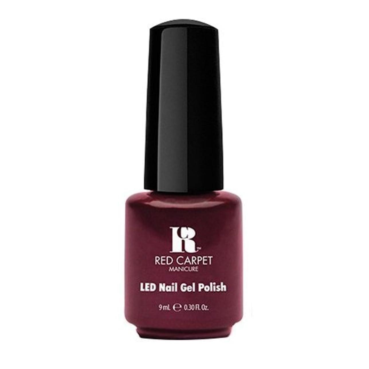 順番誘惑工業用Red Carpet Manicure - LED Nail Gel Polish - Glamspiration - 0.3oz / 9ml