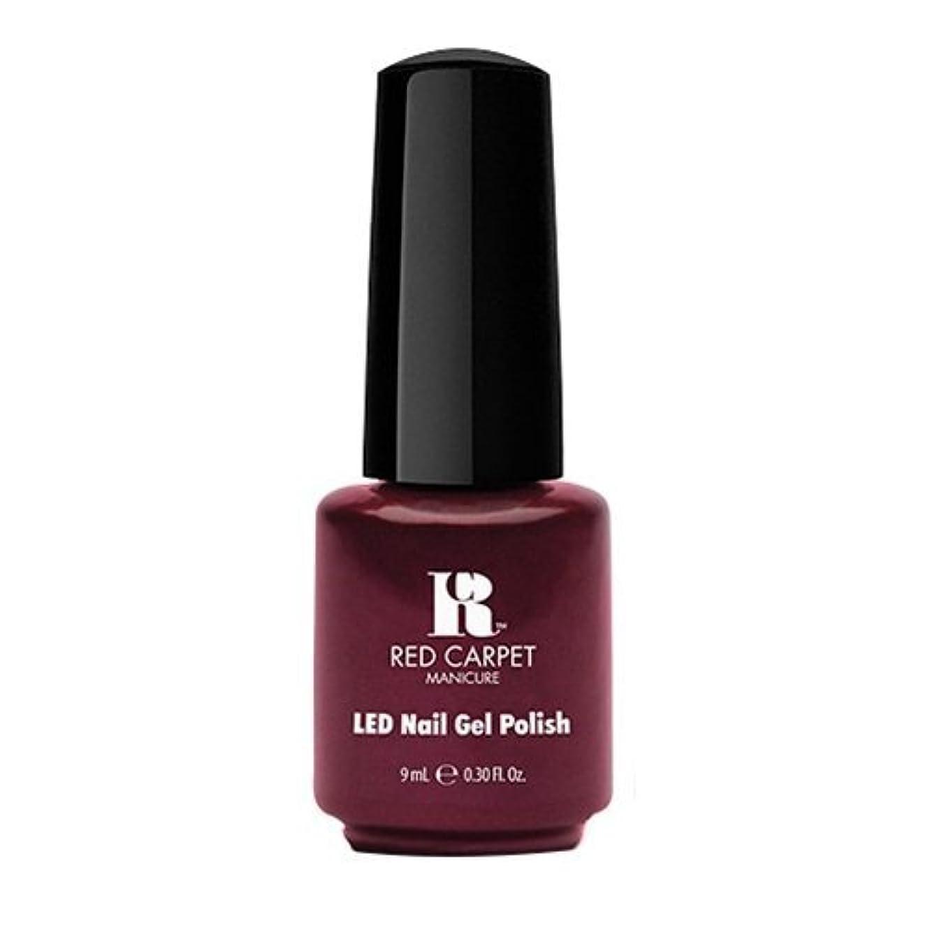 岸悲しみ敬意を表してRed Carpet Manicure - LED Nail Gel Polish - Glamspiration - 0.3oz / 9ml