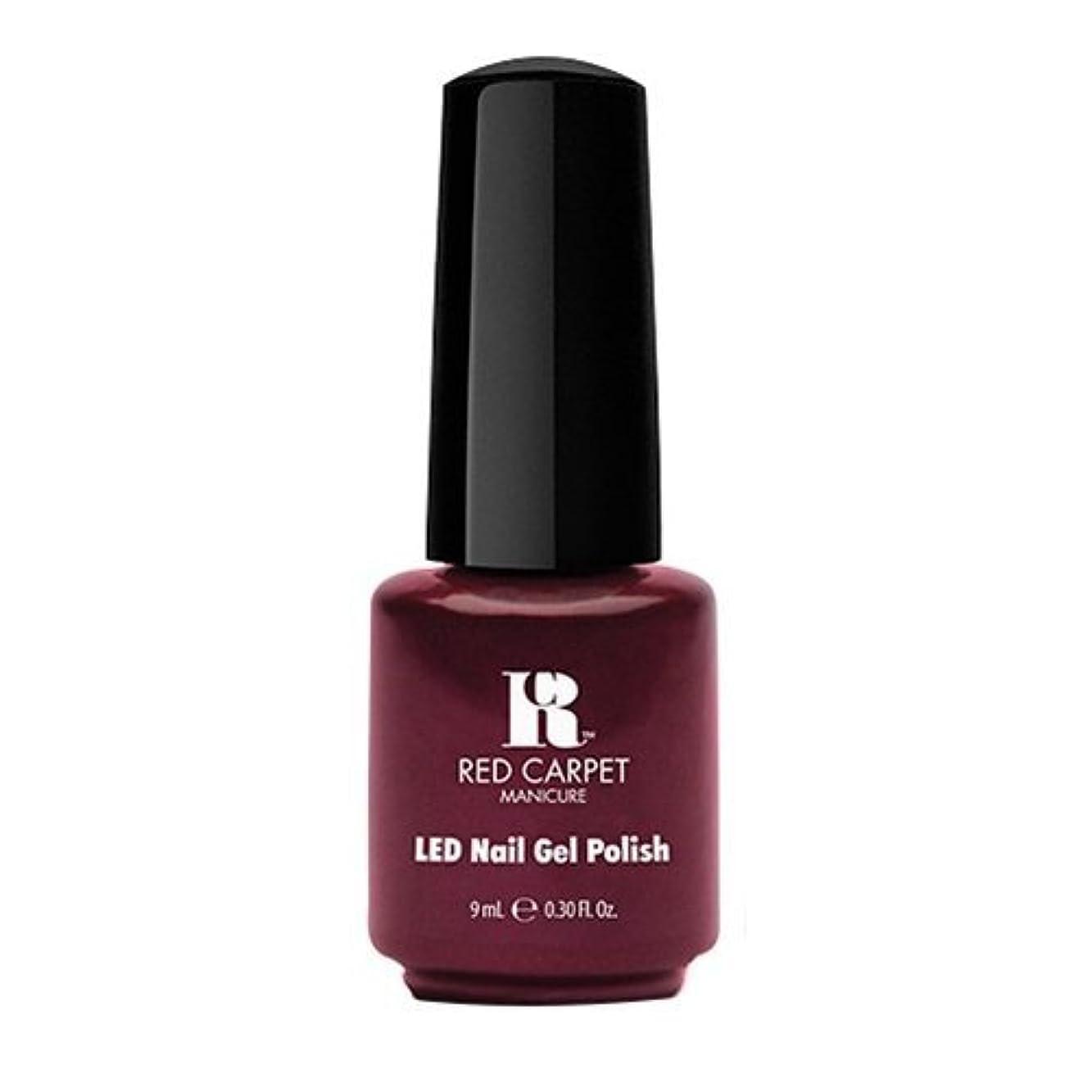 分析ウェイトレスラリーRed Carpet Manicure - LED Nail Gel Polish - Glamspiration - 0.3oz / 9ml