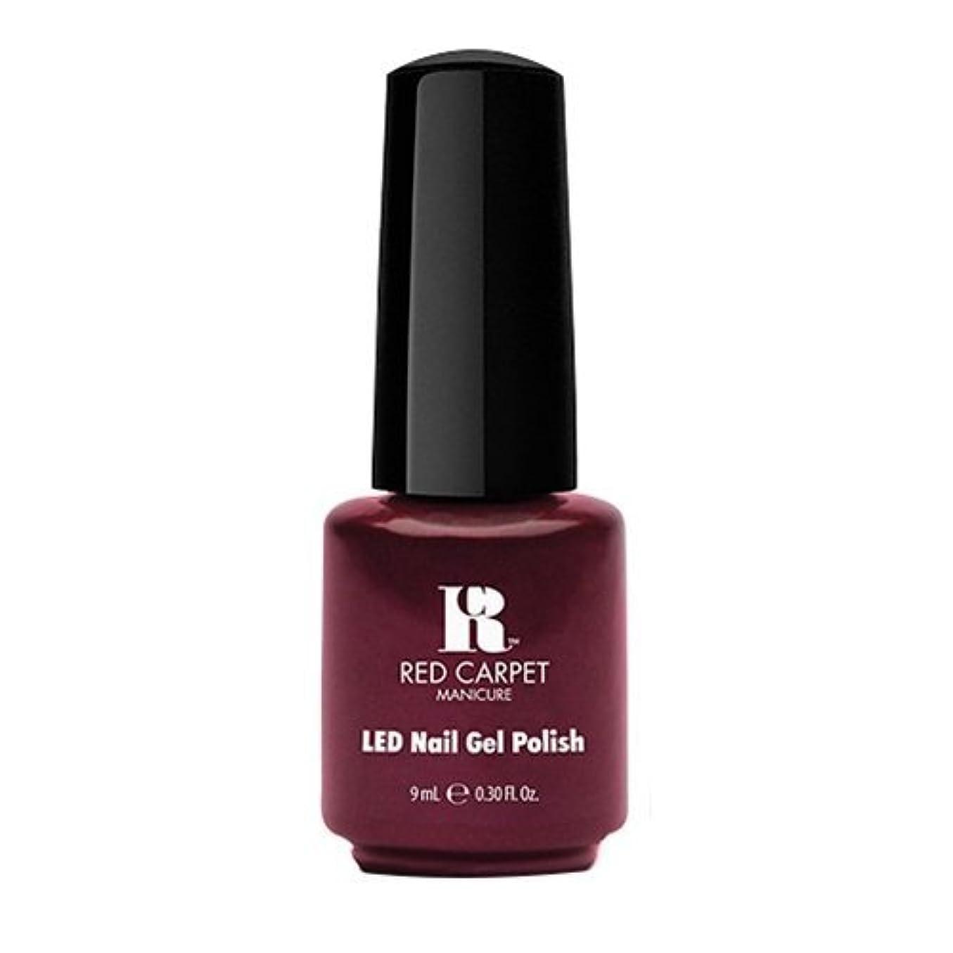 の間で後ろ、背後、背面(部いつでもRed Carpet Manicure - LED Nail Gel Polish - Glamspiration - 0.3oz / 9ml