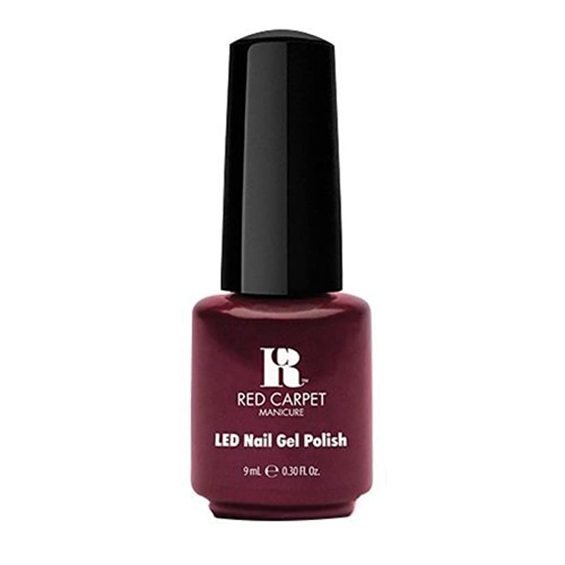 繁雑バーチャル恐ろしいRed Carpet Manicure - LED Nail Gel Polish - Glamspiration - 0.3oz / 9ml