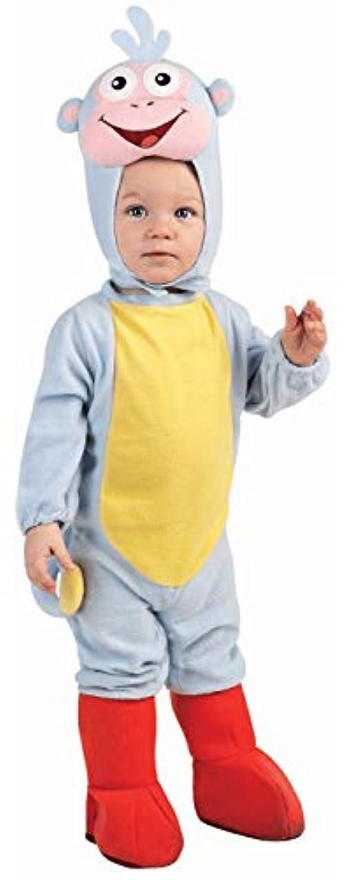 いつでも食事を調理する進化Dora The Explorer Boots EZ-On Romper Infant Costume ドラエクスプローラブーツEZ-Onのロンパースの幼児のコスチューム サイズ:Newborn (0-6 Months)