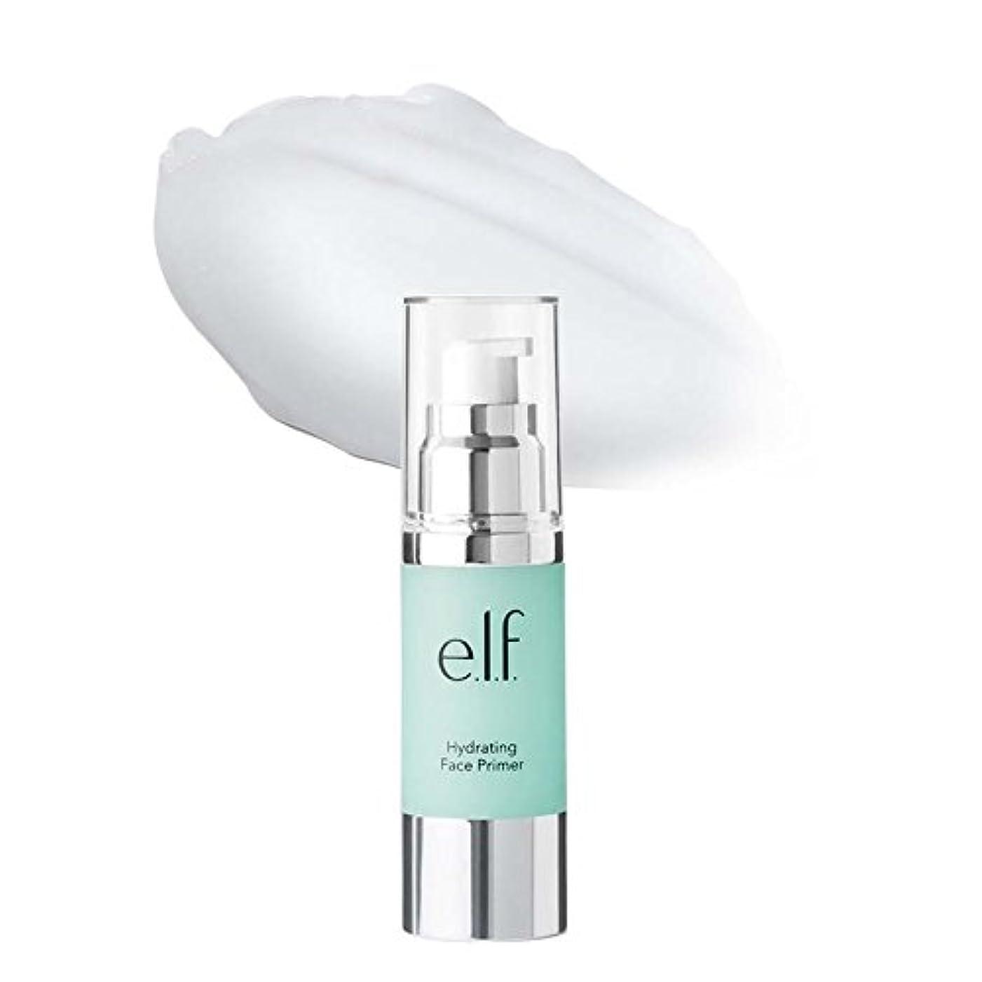 自殺干し草ラフト(3 Pack) e.l.f. Hydrating Face Primer - Clear (並行輸入品)