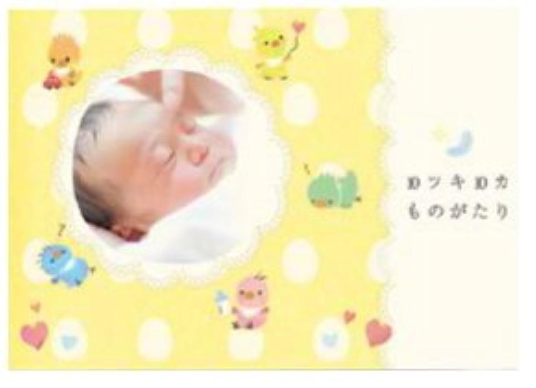 エコー 写真 アルバム 10ツキ10カものがたり (ひよこ)【メール便発送商品】