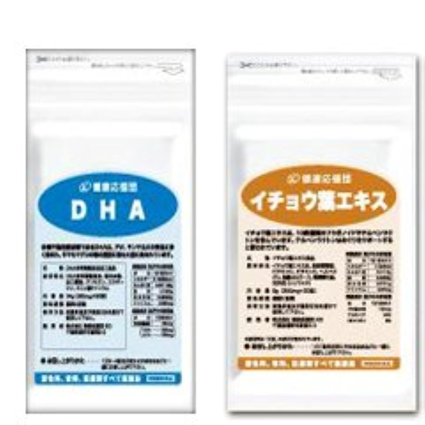 (お徳用3か月分)サラサラ巡りセット DHA + イチョウ葉エキス 3袋&3袋セット(DHA?EPA?イチョウ葉?ビタミンC?ビタミンE?ビタミンP配合)