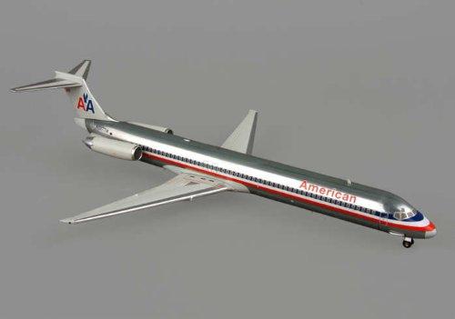 1: 200 ホーガンウィングス アメリカン 航空 MD-80 Die-Cast Metal (並行輸入)