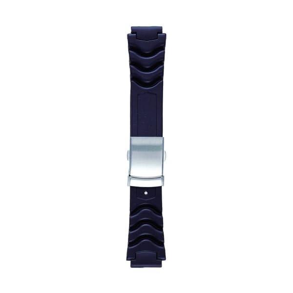 BAMBI 時計バンド ウレタン 黒 14.16...の商品画像