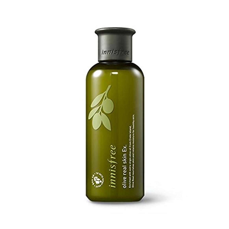軸ワンダー十分なイニスフリーオリーブリアルスキン 200ml Innisfree Olive Real Skin Ex. 200ml [海外直送品][並行輸入品]