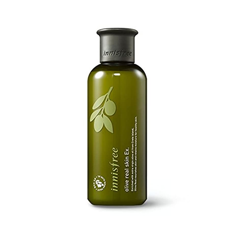 数しなやか強制的イニスフリーオリーブリアルスキン 200ml Innisfree Olive Real Skin Ex. 200ml [海外直送品][並行輸入品]