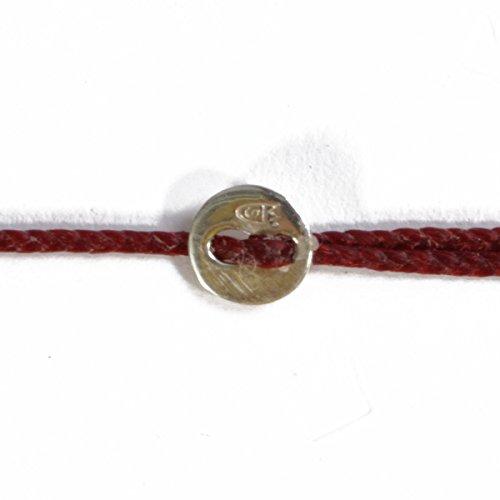 [해외](스코샤) SCOSHA SB3 | BRACELET [S.SILVER] 왁스 코팅 코드 팔찌 | 실버/(Scorcia) SCOSHA SB3 | BRACELET [S.SILVER] wax coating code bracelet | sterling silver