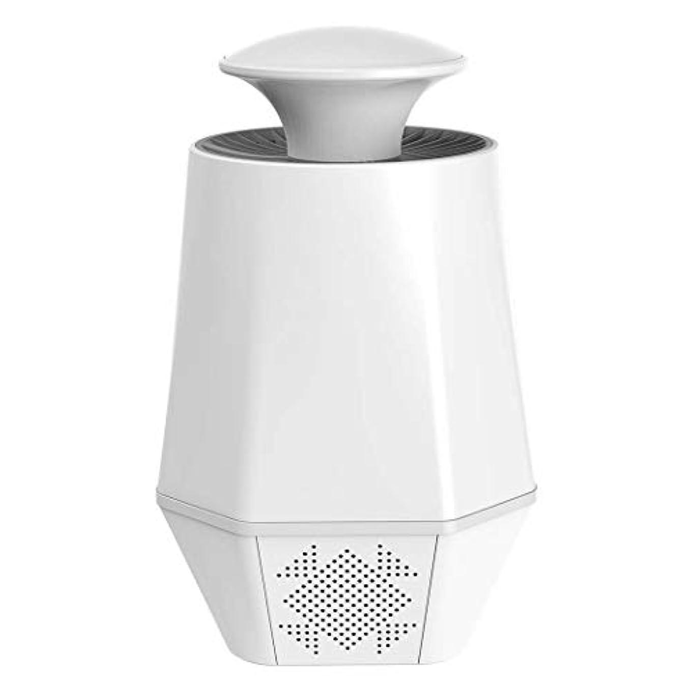 懐疑的子羊マーキー蚊のキラー、USBインターフェイス光触媒忌避剤、LEDフライングライトの模倣人間の閉じ込め技術スマート家庭用蚊のキラー,White