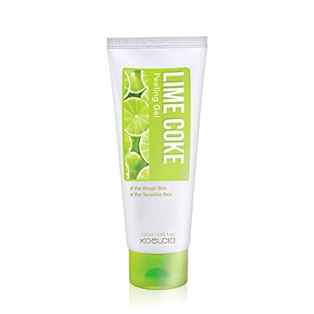 引き付ける上へ海港KOELCIA Lime Coke Peeling Gel 120ml/Korea Cosmetics