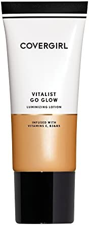 COVERGIRL Vitalist Go Glow Luminizing Lotion, 40.5 Grams