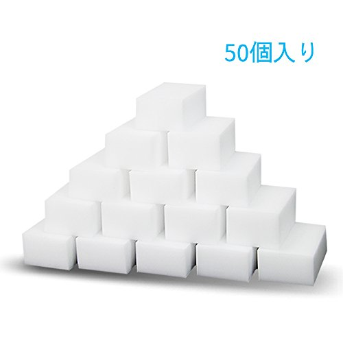 MQ メラミンスポンジ 洗剤いらない 激落ち 大きいサイズ 20個 50個 ...