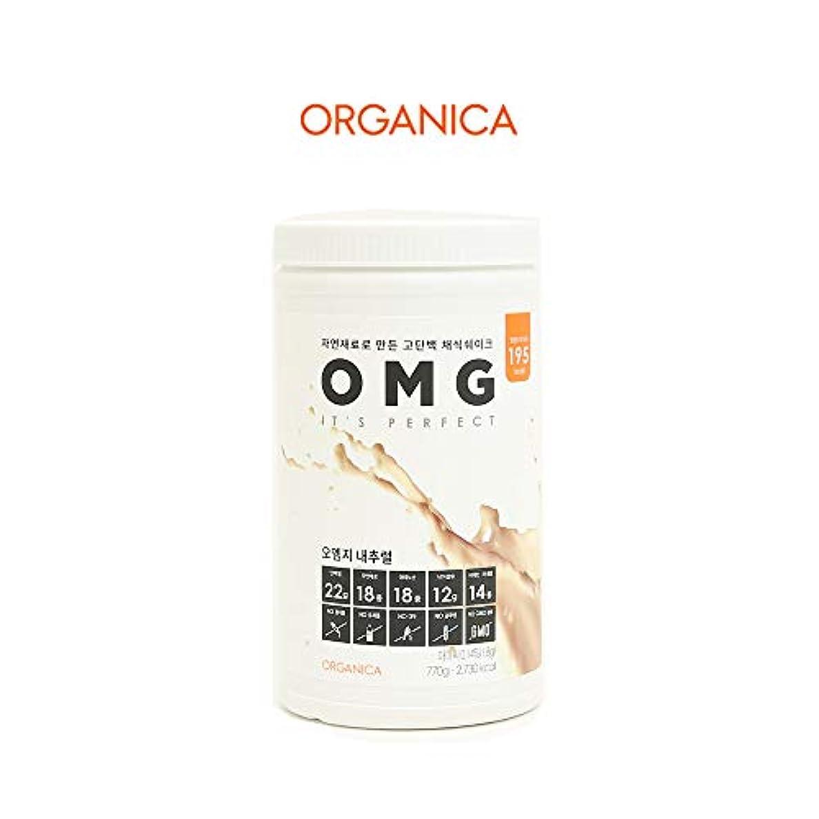 極めて重要なアンデス山脈論理的オーエムジー タンパク質 ダイエット シェイク (OMG, protein shake) (ナチュラル)