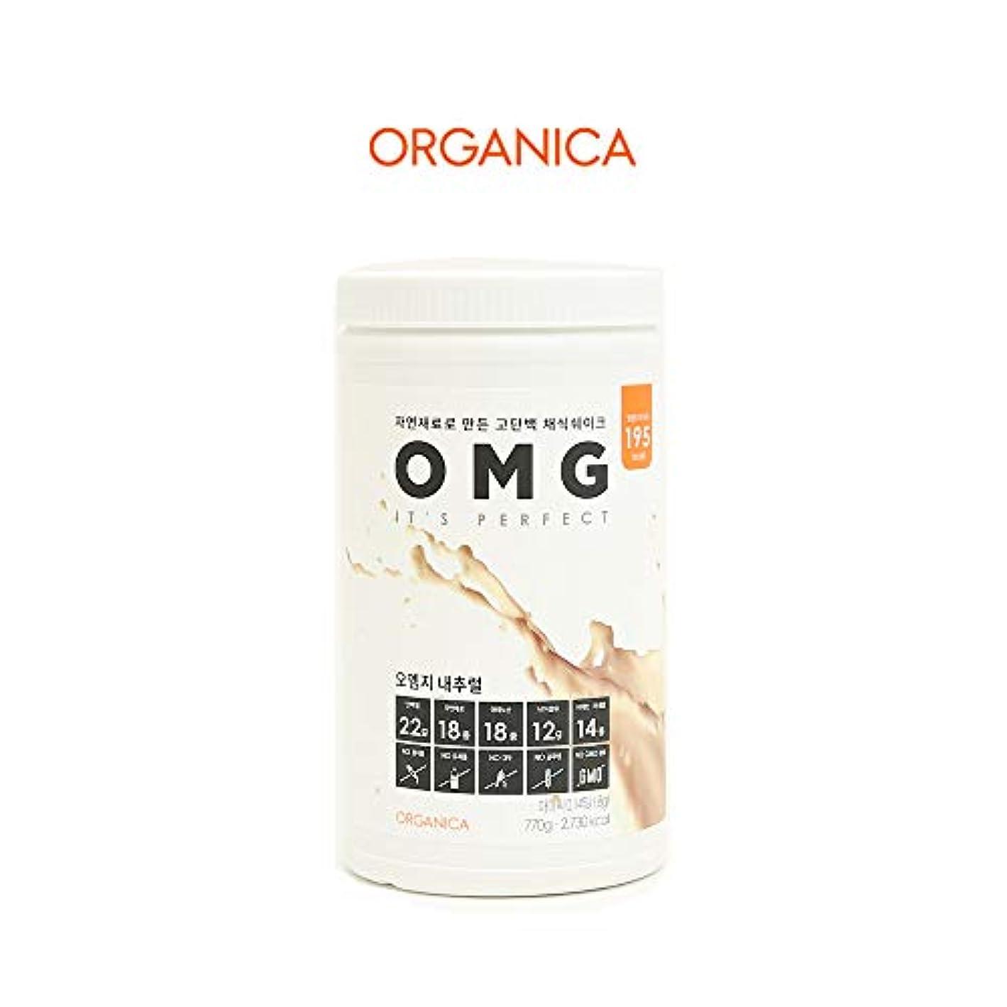 質素なとは異なり日常的にオーエムジー タンパク質 ダイエット シェイク (OMG, protein shake) (ナチュラル)