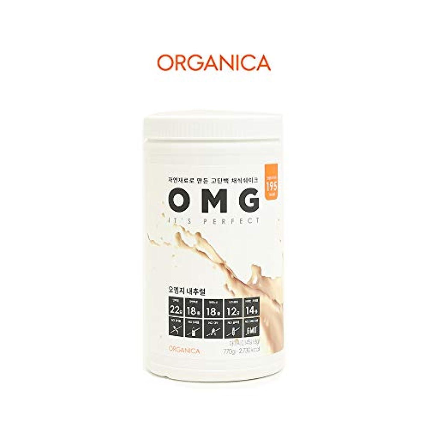 流星ジーンズ知恵オーエムジー タンパク質 ダイエット シェイク (OMG, protein shake) (ナチュラル)