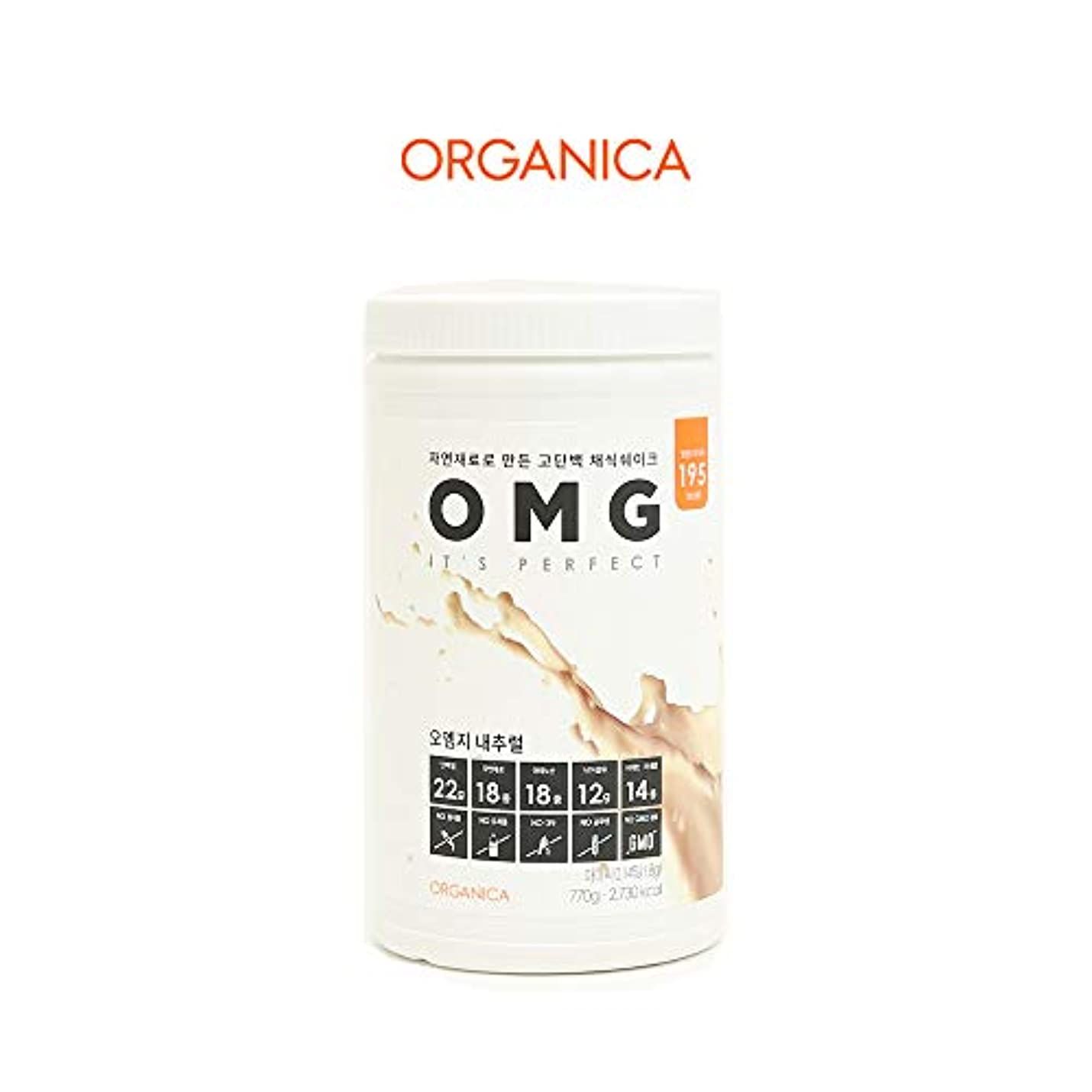 金銭的な付添人眉オーエムジー タンパク質 ダイエット シェイク (OMG, protein shake) (ナチュラル)