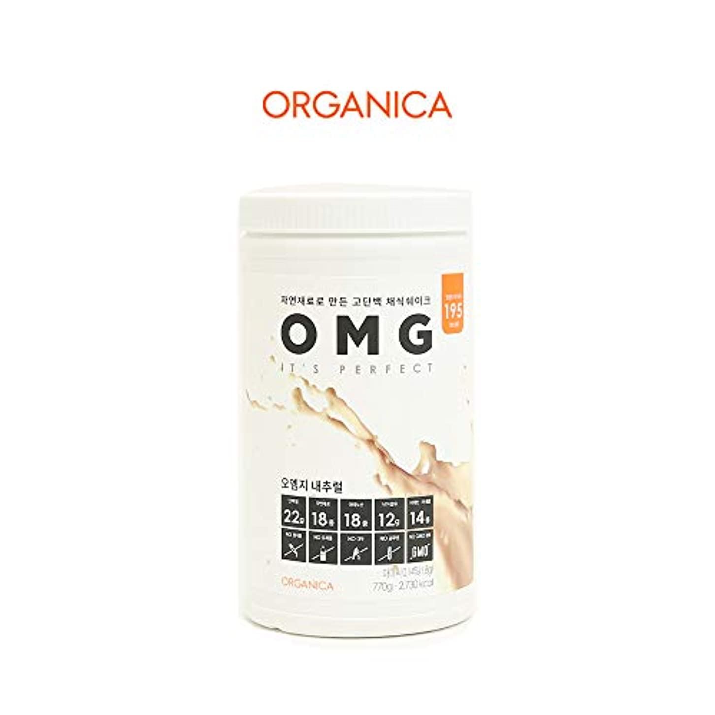 フラフープ肉屋咽頭オーエムジー タンパク質 ダイエット シェイク (OMG, protein shake) (ナチュラル)