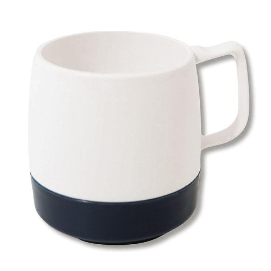 おとこ根絶するダイバーダイネックス DINEX 8oz Mug 2TONE [ オフホワイト×ミッドナイトブルー ]