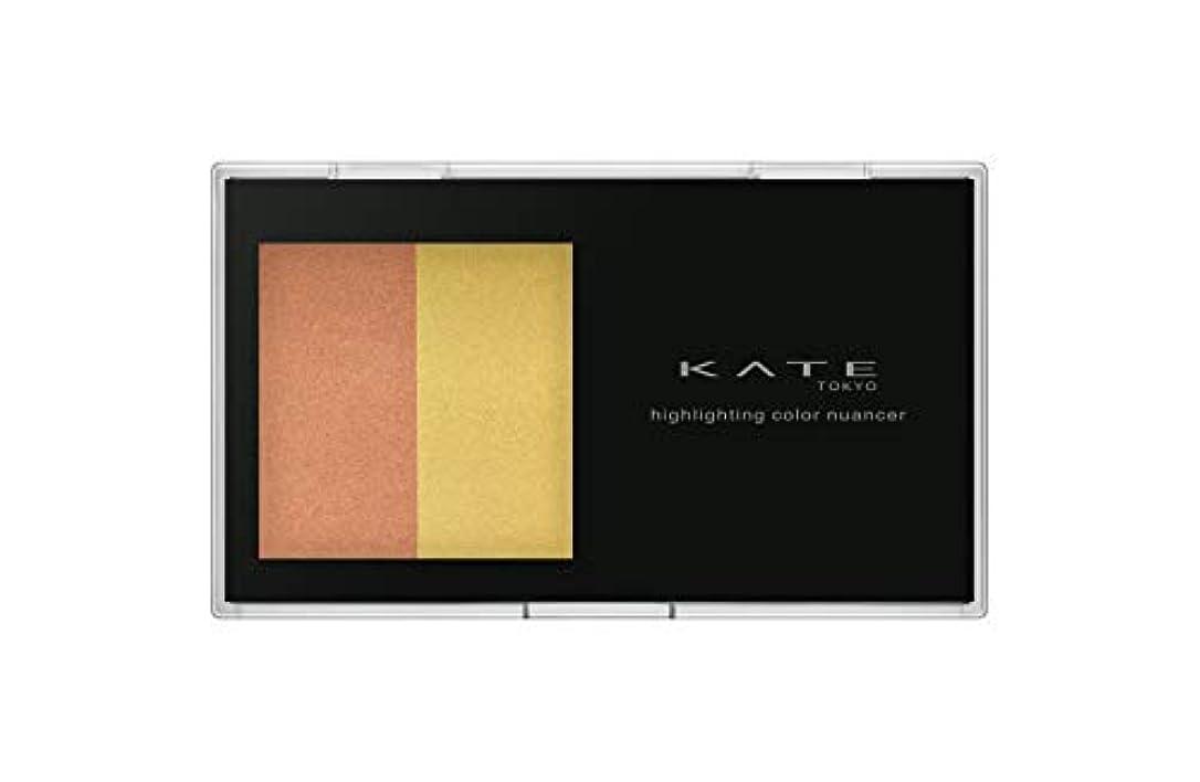 定刻質素なカメラKATE(ケイト) ケイト ハイライティングカラーニュアンサー EX-2 チーク オレンジ×イエロー 4.5g