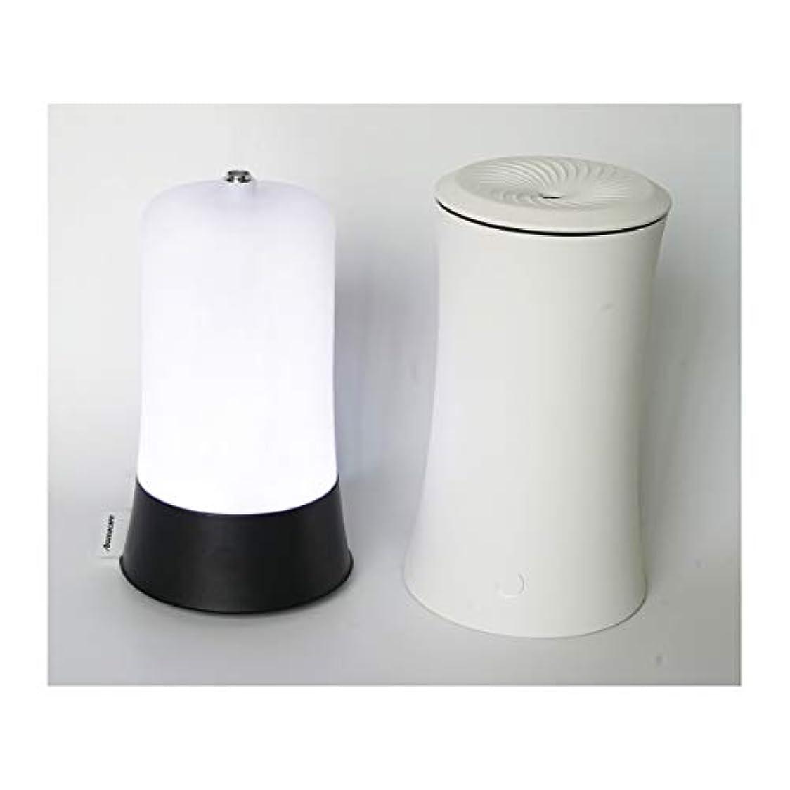 宅配便男奨励ウッドグレイン超音波アロマクールミスト300mlエッセンシャルオイルディフューザー、アロマ加湿器付き、水なしオートシャットオフ、7色LEDライトホームオフィス用ベビーホワイト