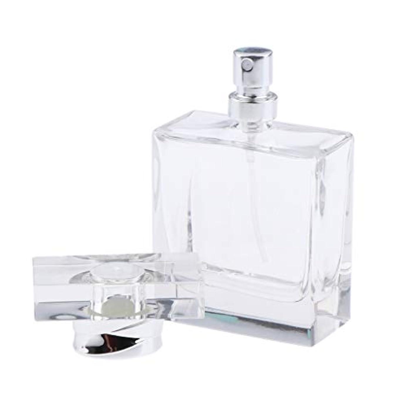 石あいまいなスカウト香水ボトル ガラス 香水瓶 50ml ポータブル 旅行 小分け容器 化粧ボトル