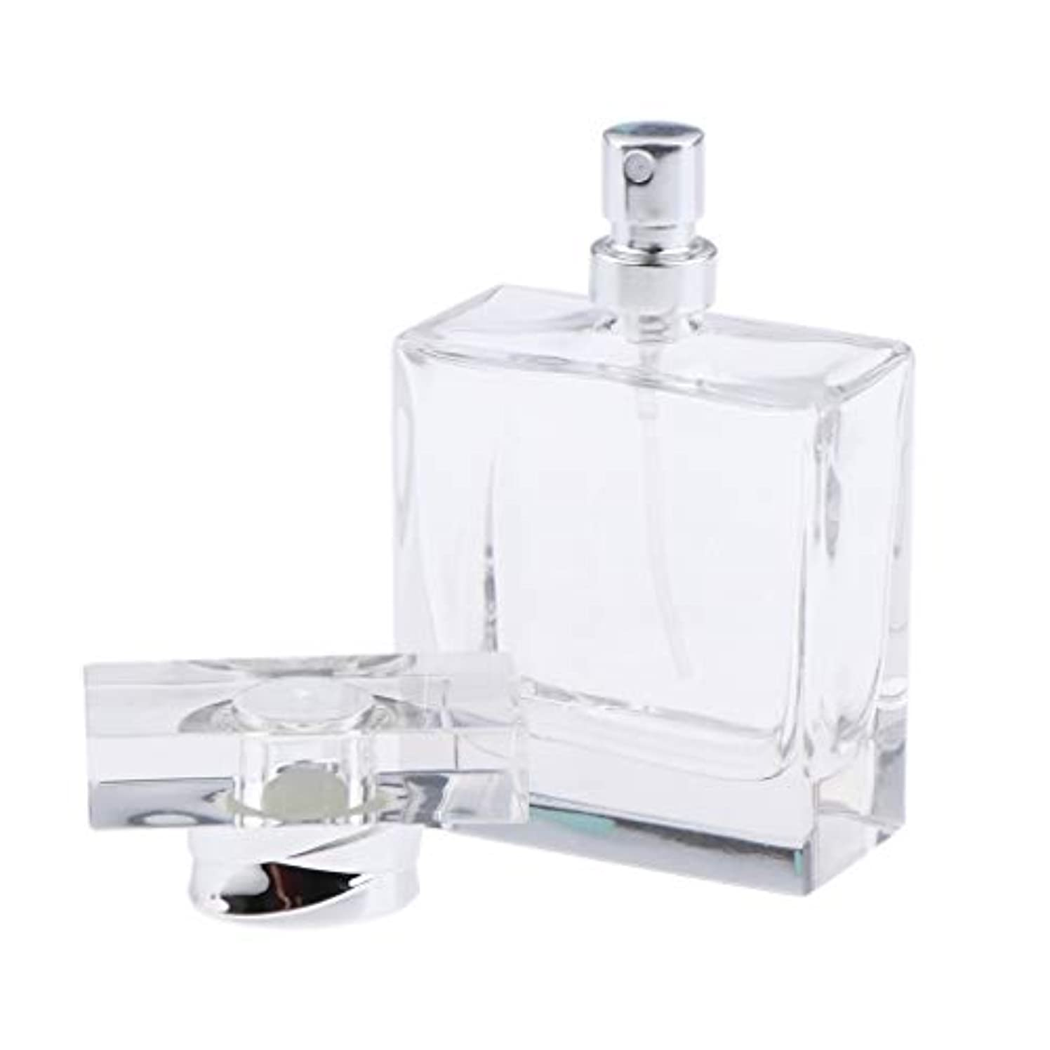 不道徳多分ブレイズ香水ボトル ガラス 香水瓶 50ml ポータブル 旅行 小分け容器 化粧ボトル